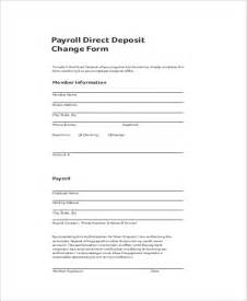 payroll direct deposit authorization form template direct deposit authorization template ebook database