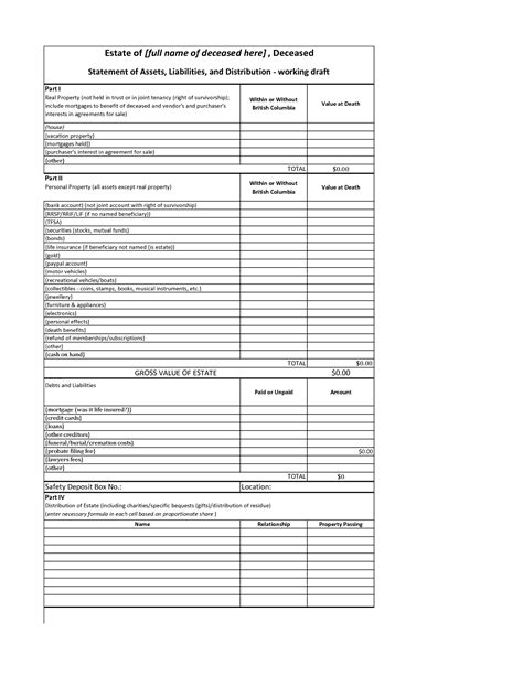 Assets And Liabilities Spreadsheet by Assets And Liabilities Worksheet