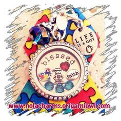 Origami Owl Autism Locket - origami owl on origami owl living lockets and