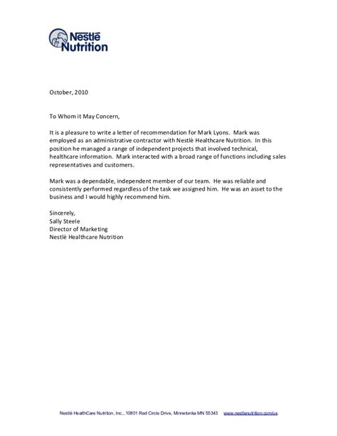 Letter Of Recommendation Naviance simple exle of recommendation letter letters free