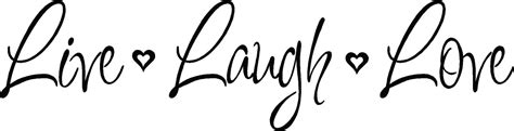 live laugh love vinyl decal wall stickers letters words