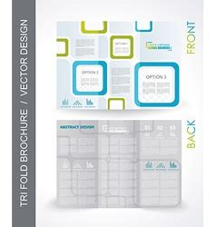 Couture Trifold Travel In Mock by Tri Fold Travel Mock Up Brochure Design Royalty Free Vector