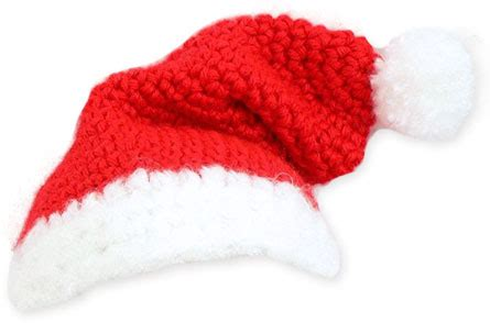 free crochet santa hat for children baby santa hat crochet pattern favecrafts