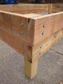 Elevated Bed Frame Plans How To Build A Raised Bed For An Organic Vegetable Garden