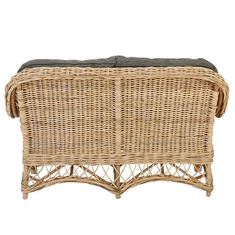 rattan 2 seater sofa woven rattan sofa rotin design two seater sofa