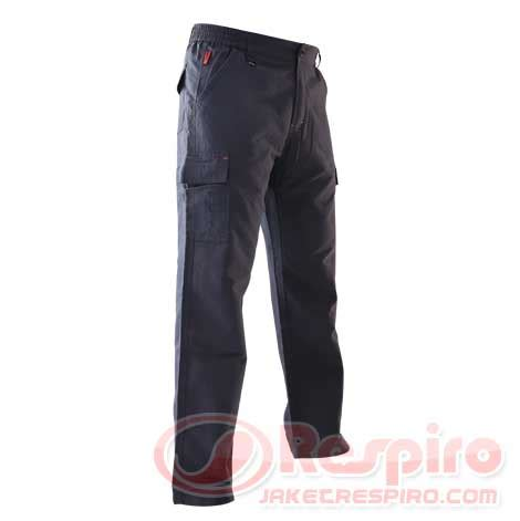 Respiro Cosmo Blue Charcoal Jaket Touring Biker casual pant respiro axl cargo celana panjang jaket