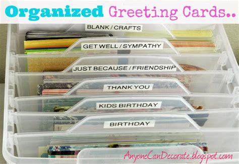 Birthday Card Organizer Anyone Can Decorate My Most Popular Blog Post Greeting