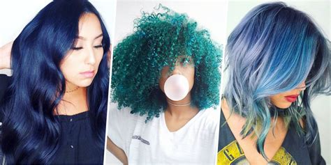 tips when youre bored of straight lifeless hair 15 best blue hairstyle ideas pretty and cool blue hair