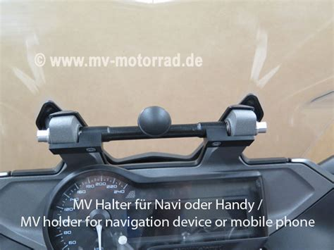 Navi Von Bmw F R Motorrad bmw r1200rs navihalter f 252 r bmw naviger 228 t andere von mv