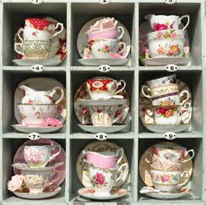 vintage bone china tea cups and antique teacup trios
