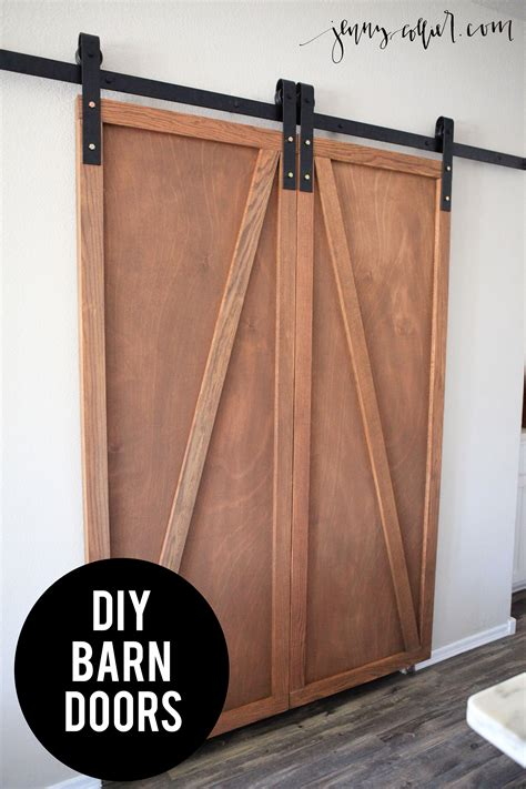 Diy Barn Doors Diy Barn Door Pantry 187 Collier