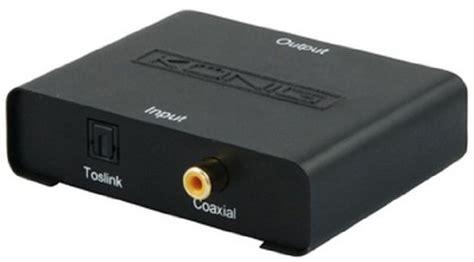 casse con ingresso ottico k 246 nig kn optrca10 convertitore da ottico a stereo rca