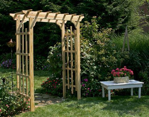 rose trellis plans treated pine rose arbor pergola