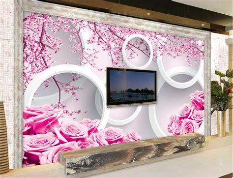 Wallpaper Sticker Dinding 276 распродажа розовая роза обои товары со скидкой на aliexpress