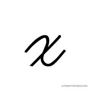 i never seen anyone write a cursive x like i do