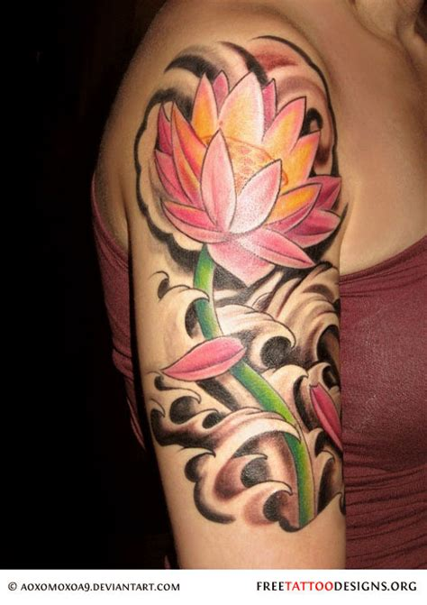 lotus tattoo in arm 90 lotus flower tattoos