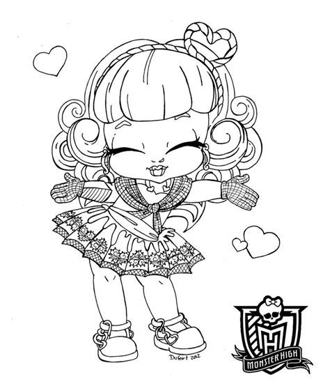 monster high coloring pages deviantart baby monster high coloring pages baby c a cupid by