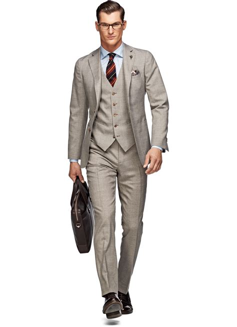 Light Brown Suit by Suit Light Brown Plain P3726 Suitsupply Store
