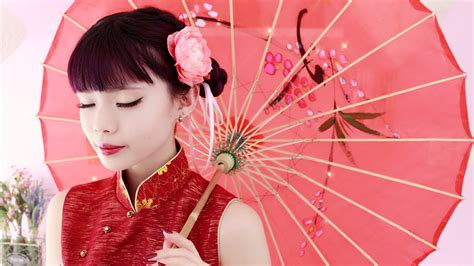 the latest hair colour for lunar new year 2015 minimalistic chinese new years makeup and simple double