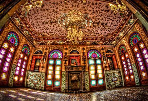 in iran golestan palace in tehran