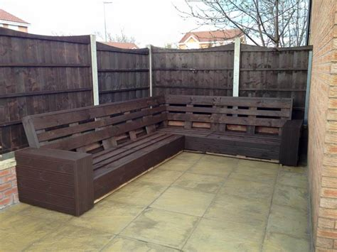 build outdoor sectional diy pallet sectional sofa for patio