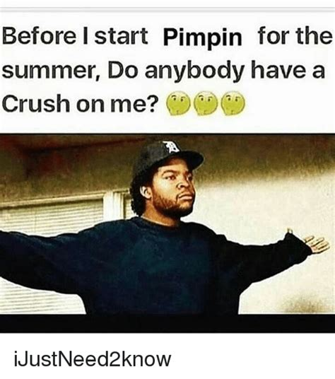 I Have A Crush On You Meme - before i start pimpin for the summer do anybody have a