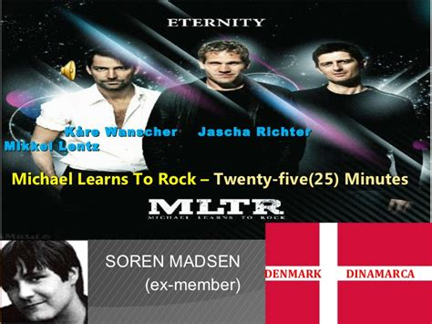 Cd Michael Learns To Rock 25 Th Anniversary Played On Pepper michael learns to rock 25 minutes