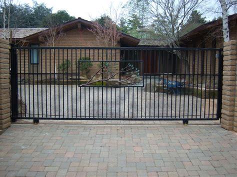 Garage Gate Designs decorative slide gate contemporary exterior san