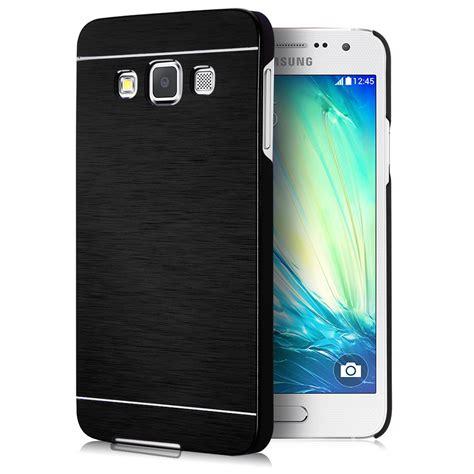 Hardcase Fuze Samsung Galaxy A3 luxury metal aluminum brushed pc back cover