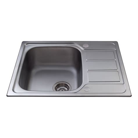 Single Sink Drainer by Cda Stainless Steel Single Bowl Sink With Mini Drainer
