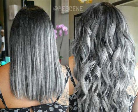 gray ombre hair process best 25 silver hair dye ideas on pinterest grey ombre