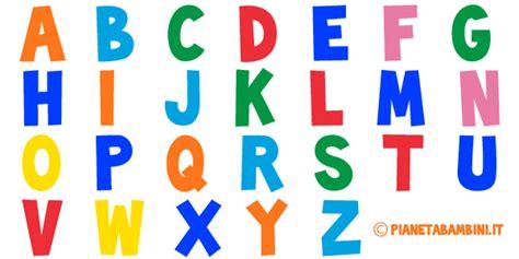 alfabeto completo di lettere straniere lettere dell alfabeto colorate e grandi da stare