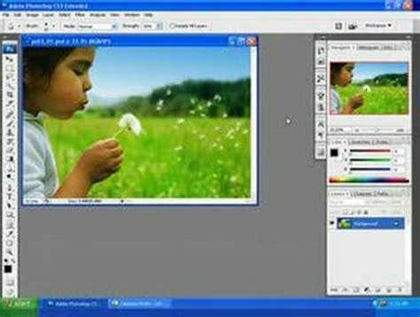 photoshop cs3 workspace tutorial learn photoshop photoshop training cs3 the workspace