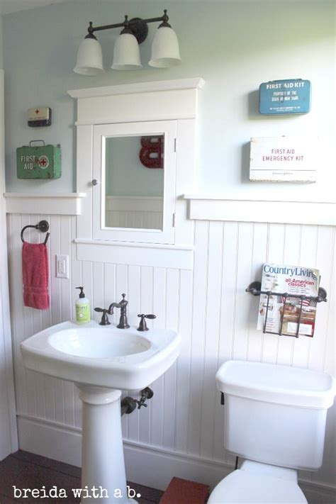 Bathroom Ideas Vintage The Magazine Holder Bathrooms Aid Aid Kits And Aid Kit