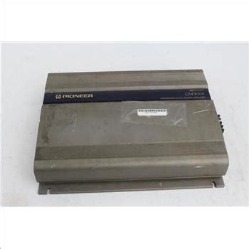 Power 4ch Pioneer Gm A6704 pioneer gm x314 bridgeable 4 ch power lifier property