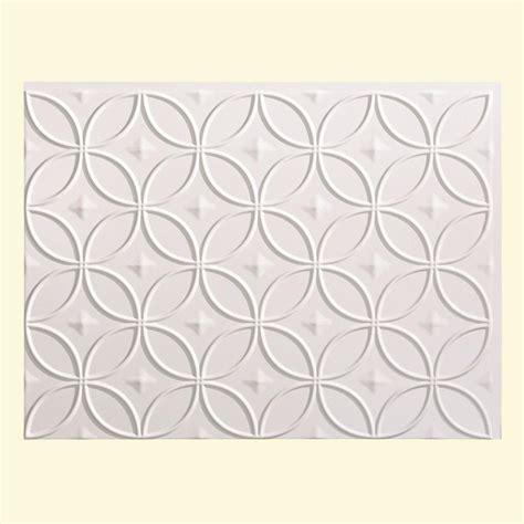 pvc backsplash panel fasade 24 in x 18 in rings pvc decorative backsplash