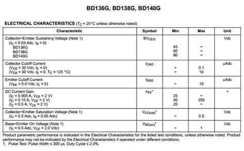 datasheet transistor bd140 bd140 datasheet pdf on semiconductor