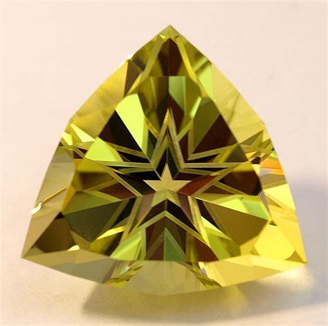 Citrine Quartz 3 05ct cut gemstones halo design of david