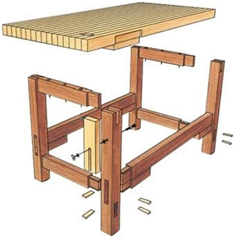 craft bench plans workbench plans gentlemint