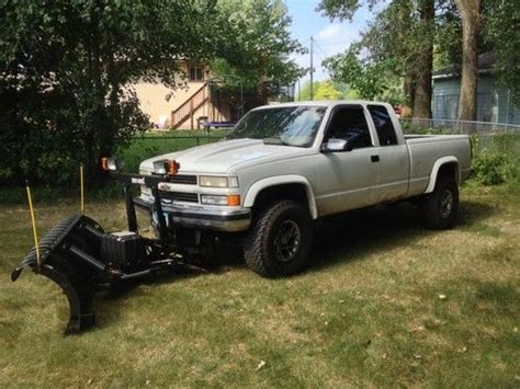 small engine repair training 2011 chevrolet silverado parking system find used 1995 chevy silverado with snowplow in saint paul minnesota united states