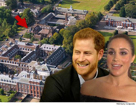 where does prince harry live meghan markle and prince harry to live in apartment in