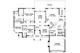 Spanish Style Floor Plans by Pics Photos Spanish Home Plans
