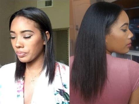 no heat challenge relaxed hair hair talk hair growth length check no heat