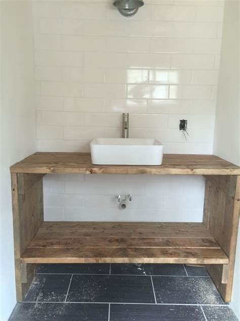 Diy Sink Vanity by Vanity From 2x6 Boards Tiny House In 2019