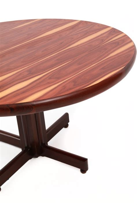 Wood Dining Room Brazilian Rosewood Dining Table By Sergio Rodrigues Red