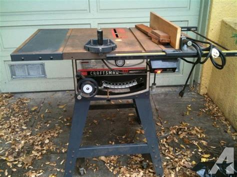 Sears Craftsman 12 Quot Table Saw With Stand For Sale In