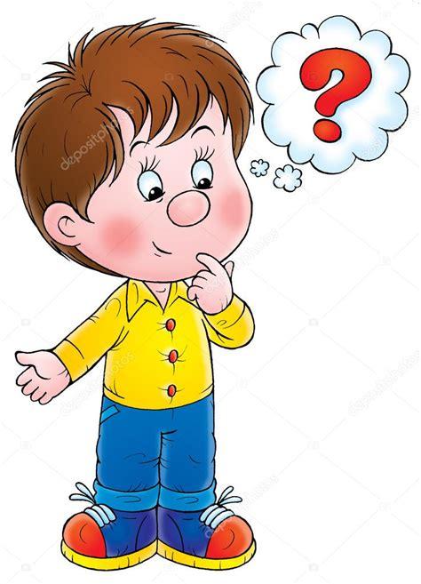 imagenes niños pensando animadas ni 241 o curioso pensando foto de stock 31115297