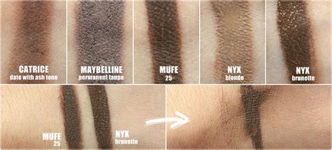 Vov Pro Eyebrow Duo 01 Light Brown ta蜒szy zamiennik aqua brow i dipbrow pomade nyx eyebrow