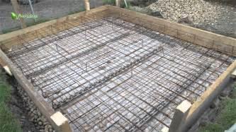 fundament terrasse fundament legen betonieren teil 2 bewehrung und