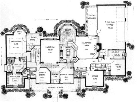 american style house plans early american style house plans 3578 square foot home 1 story 4 bedroom and 3